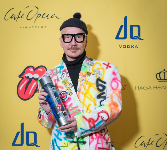 DQ Vodka - The Rolling Stones - Cafe Opera